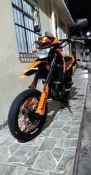 Kawasaki D-trake 250 aceito trocar