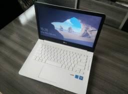 Lindo Notebook LG branco com Garantia