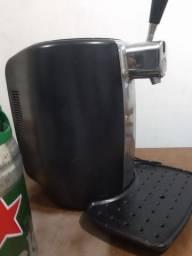 Chopeira Heineken elétrica funciona perfeitamente