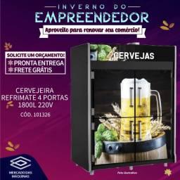 Título do anúncio: Cervejeira Refrimate 4 portas 1800L 220v Nova Frete Grátis
