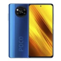 """Smartphone Xiaomi POCO X3 NFC Dual SIM 64GB de 6.67"""" 64+13+2+2MP/20MP OS 10 - Cobalt Blue"""