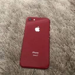 Vendo iPhone 8 red em bom estado