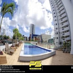 Apartamento com 2 dormitórios à venda, 69 m² por R$ 321.000 - Expedicionários - João Pesso