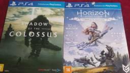 Shadow of the colossus e Horizon zero dawn