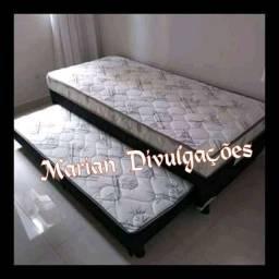 Frete grátis pra te entregar hoje / cama nova luxo solteiro com auxiliar bem macias