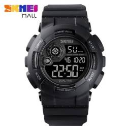 Relógio Militar S-shock Skmei 1583 digital Black full A prova D'água ENTREGA GRÁTIS*