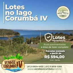 Lotes em Condomínio com infraestrutura completa no Lago Corumbá IV , Real Ville Premium