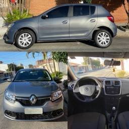 Renault Sandero 2016 1.0 Expression 16v Flex 4p Manual Raridade
