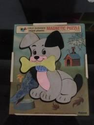 Quebra-cabeça magnético dog
