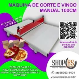 Título do anúncio: Máquina De Corte E Vinco Para Embalagens - Caixa de pizza - E-commerce - Vários tamanhos