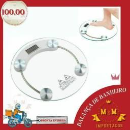 Balança de vidro para banheiro 180 kg