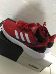 Tênis adidas vermelho original