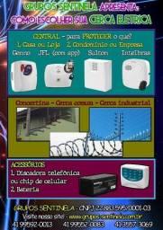 Cerca-elétrica Intelbras instalada
