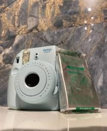 Instax Polaroid Azul Bebê + um pacote de filme