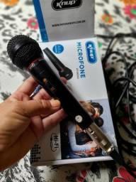 Microfone com fio de 3 m