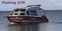 Lancha de duralumínio  Malloy Fishing de 27 até 36 pés