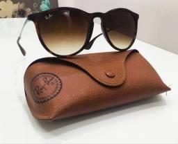 Óculos Ray Ban Feminino - Tartaruga - Modelo Erika - Original
