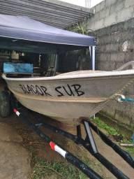 Barco de alumínio 5metros REGISTRADO