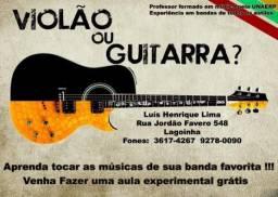 Aula de Guitarra e Violão em Ribeirão Preto