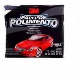 Título do anúncio: Papel para Polimento 29cm x 30cm com 10 unidades 3M