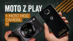 Motorola Moto Z Play novo na caixa