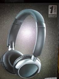 Headphone Wireless + Rádio FM + Cartão MicroSD