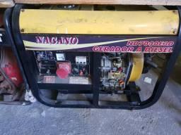 Gerador nagano 7000w diesel