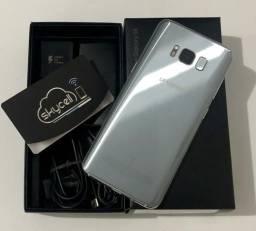 Galaxy S8 64Gb Prata Dual chip,com nota e garantia