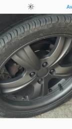 Rodas 17 marca tsuya hrs pneus zero