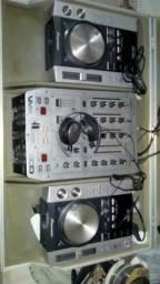 Vendo ou troco som de DJ completo