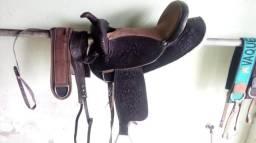 Sela australiana para cavalo