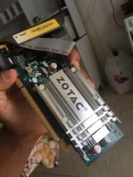 Placa de vídeo Zotac gt 7200gs 64 bits DDR 2