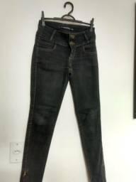 Calças jeans tam 36 e 38