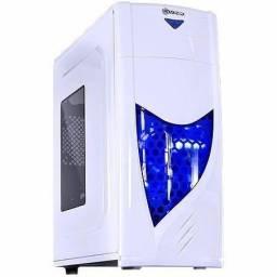 Gabinete Gamer Vx 1 Baia Branco Led Azul Eclipse V2 Vinik comprar usado  Curitiba