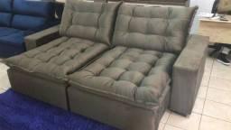 Sofa retratil e reclinavel 2,50