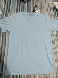 Camisetas TNG - gola em V, tamanho P