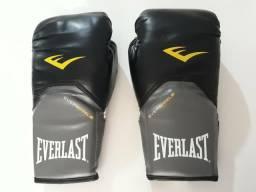 Luvas de boxe Everlast e manopla Pretorian