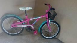 Vendo bicicleta infantil Caloi barbie - 2015
