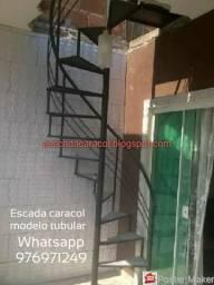 Escada caracol frete e instalação GRÁTIS plantão domingos e feriados