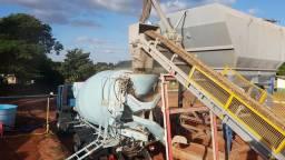 Locação mensal Usina de concreto