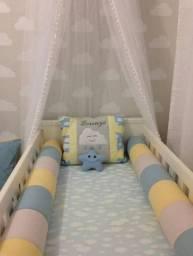 Kit berço + kit cama babá
