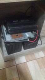 Bateria 105amp inversor 4000w