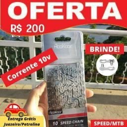 Corrente 10v para SPEED/MTB + POWER LINK