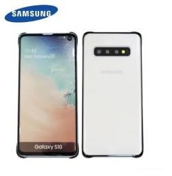 Capa Protetora Clear Cover para Samsung S10. Aceito Cartão