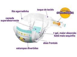 Fralda Pom Pom Protek Proteção de Mãe - Tam. G 8 a 13kg 160 Unidades