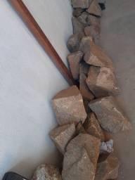Vendo marroadas pedras para alicerces barato