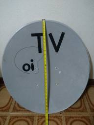 Antena TV satélite + LNB quádruplo + DISEqC