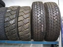 04 pneus empilhadeira recapados aro 15