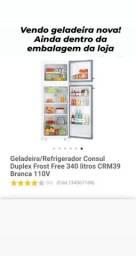 Vendo geladeira duplex consul 340L