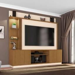 Home Painel Atlanta Sala TV 65 Polegadas C/ LED